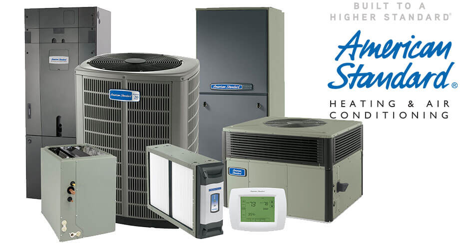 American Standard Heating and Air Conditioning Products offered by Always Ready Repair in Palos Park, Orland Park and Tinley Park, IL