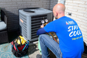 HVAC recharge service in Orland Park, IL