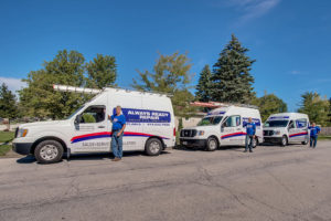 Part of the Always Ready Repair Service Fleet