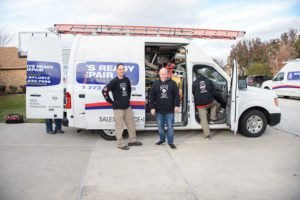 ARR HVAC team is leaving after emergency repair in Tinley Park, IL